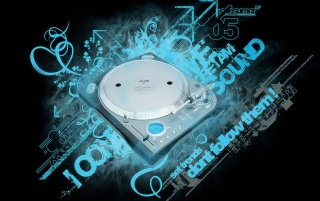 Disk Jockey sound wallpapers and stock photos