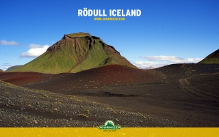 Rödull Iceland wallpapers and stock photos