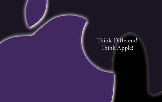 Think Apple! wallpapers and stock photos