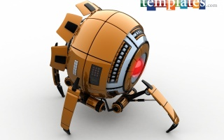 SF Spider Robot wallpapers and stock photos