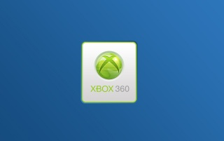 Xbox 360 simple blue wallpapers and stock photos