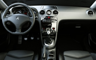 308 RC Z Interieur wallpapers and stock photos