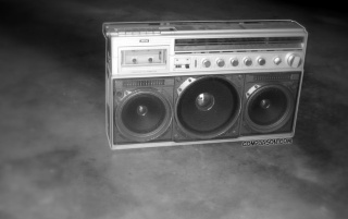 Urban Boom Box wallpapers and stock photos