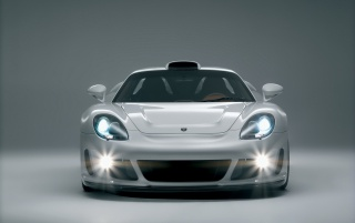 Gemballa GT white wallpapers and stock photos