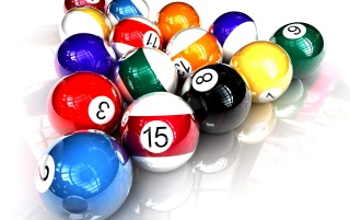 Pool colorful balls wallpapers and stock photos