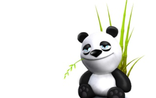 Smiling panda wallpapers and stock photos