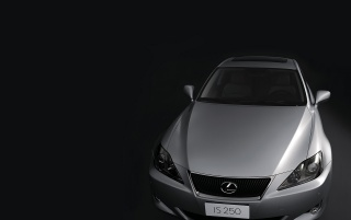 Lexus IS 250 schwarz wallpapers and stock photos