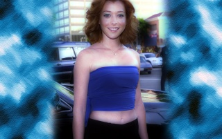 Alyson Hannigan 7b wallpapers and stock photos