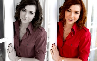 Alyson Hannigan 13 wallpapers and stock photos