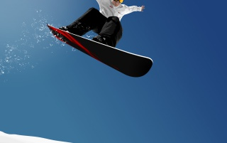 Snowboard jump wallpapers and stock photos
