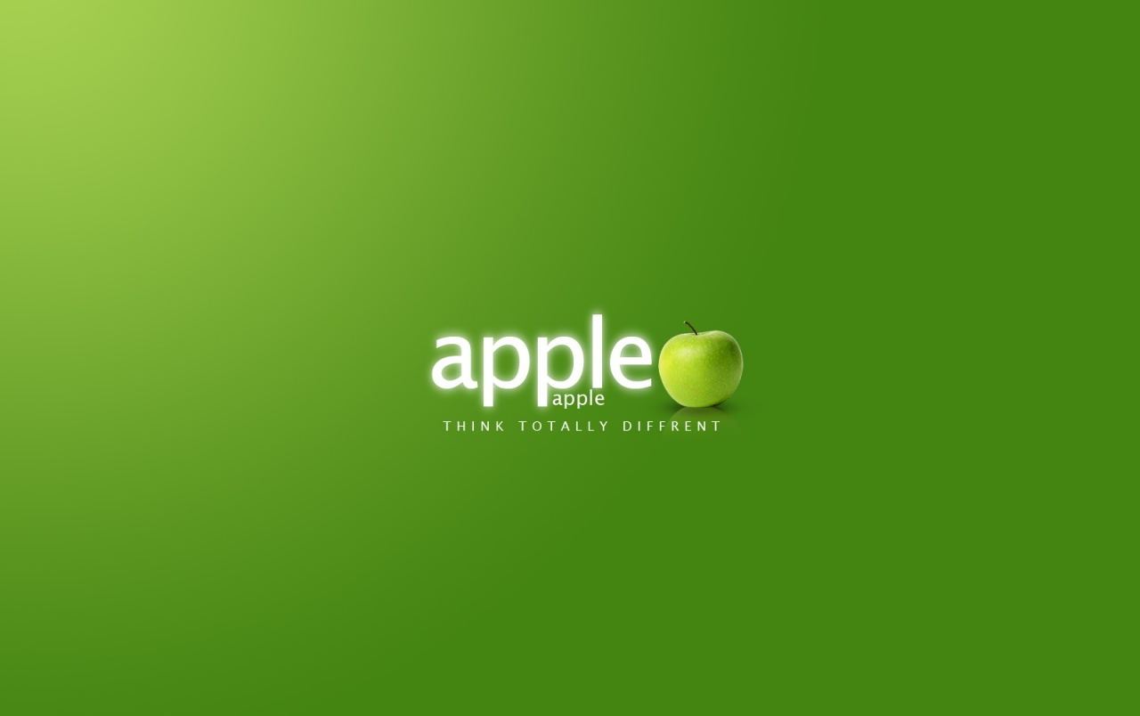 Green Apple Logo Wallpapers Green Apple Logo Stock Photos