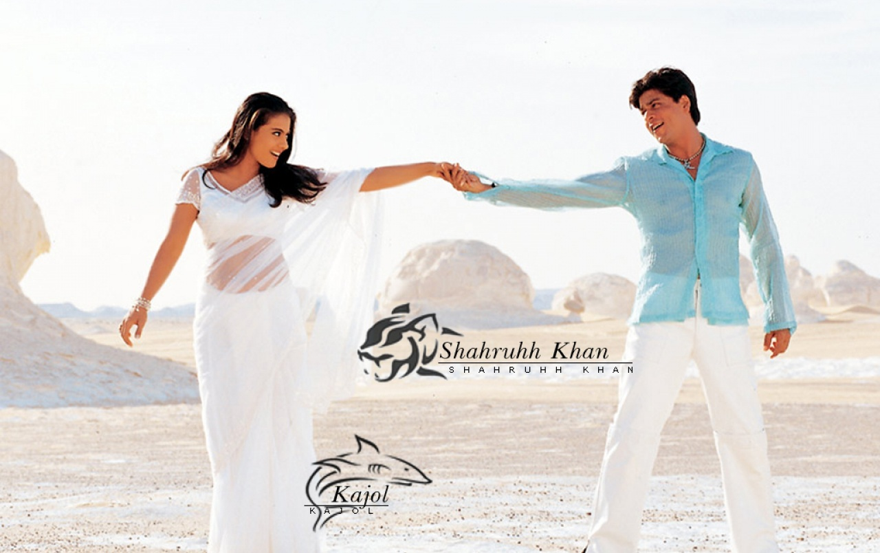 Kajol & Shahrukh1 wallpapers
