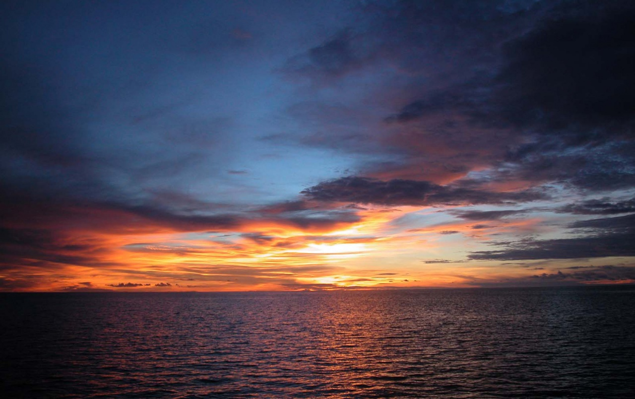Sunset Over The Sea Wallpapers And Stock Photos