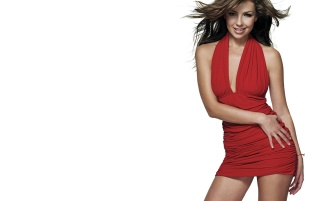 Thalia in red wallpapers