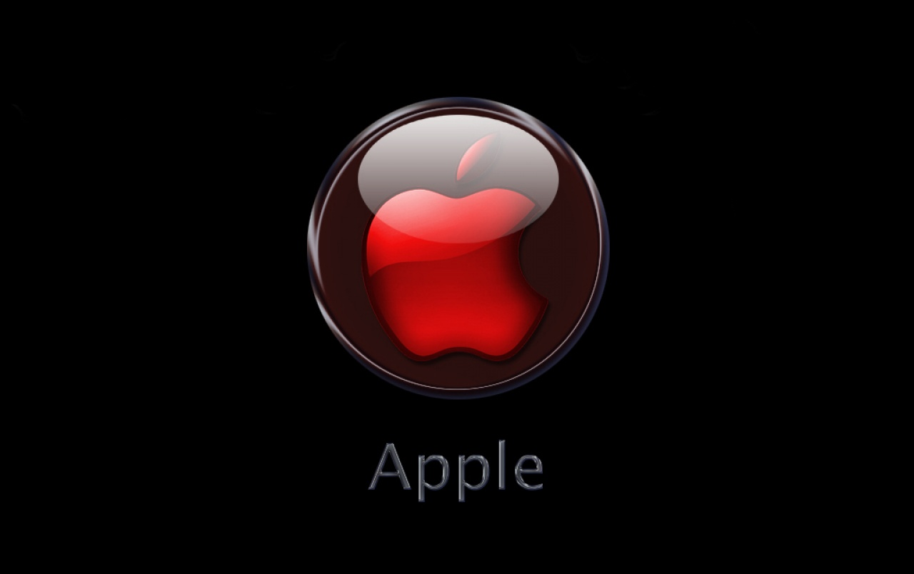 red apple logo wallpapers | red apple logo stock photos