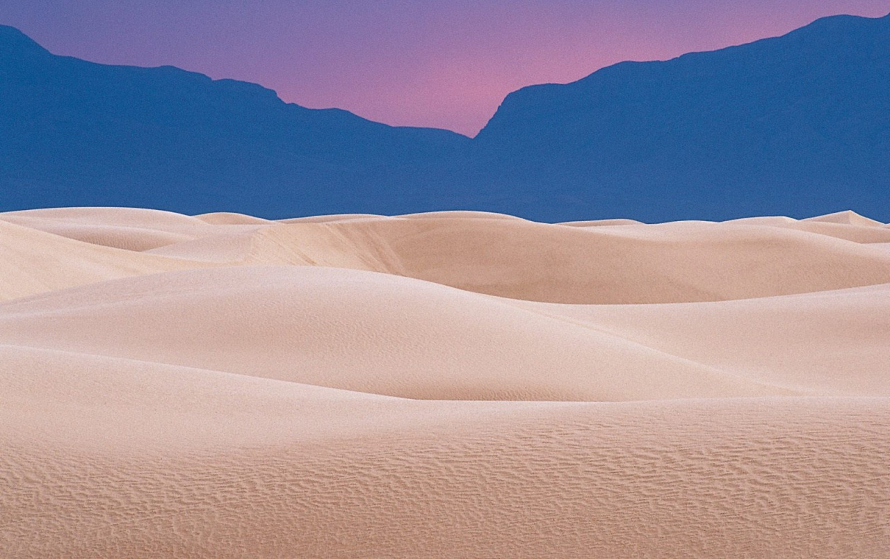 Dunes at Twilight wallpapers