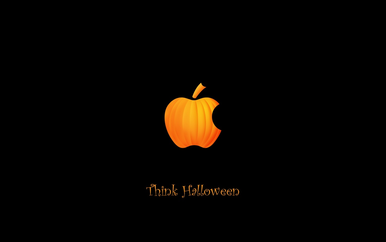Original Think Halloween Wallpapers