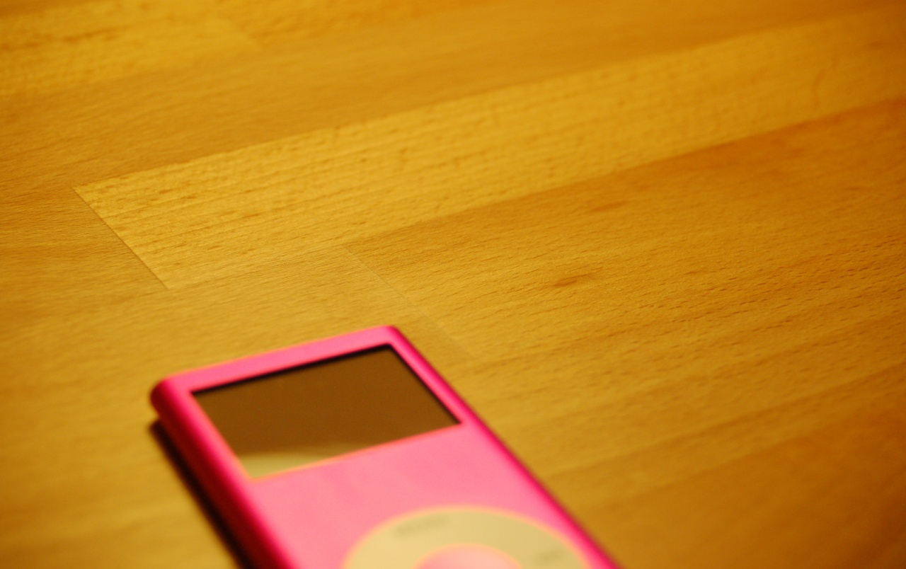 Pink Ipod wallpapers