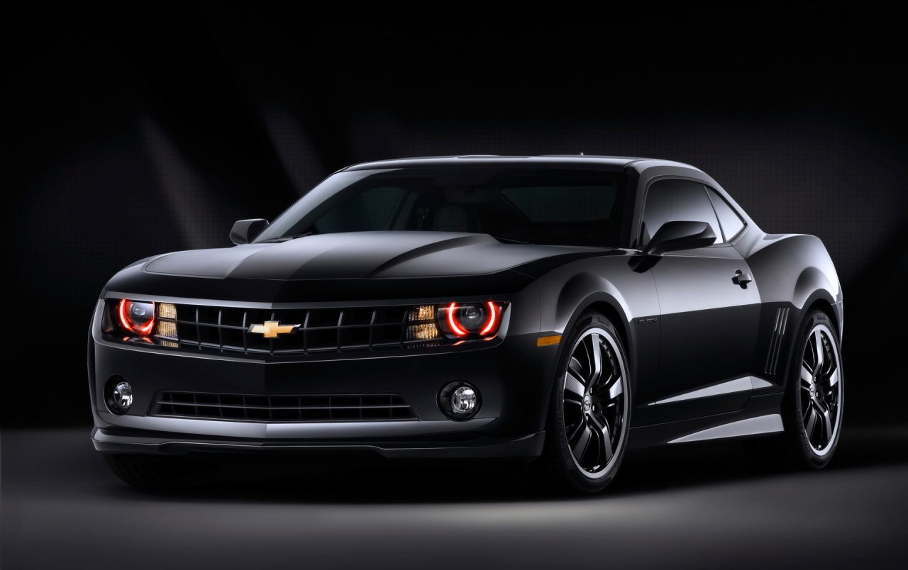Camaro black front wallpapers