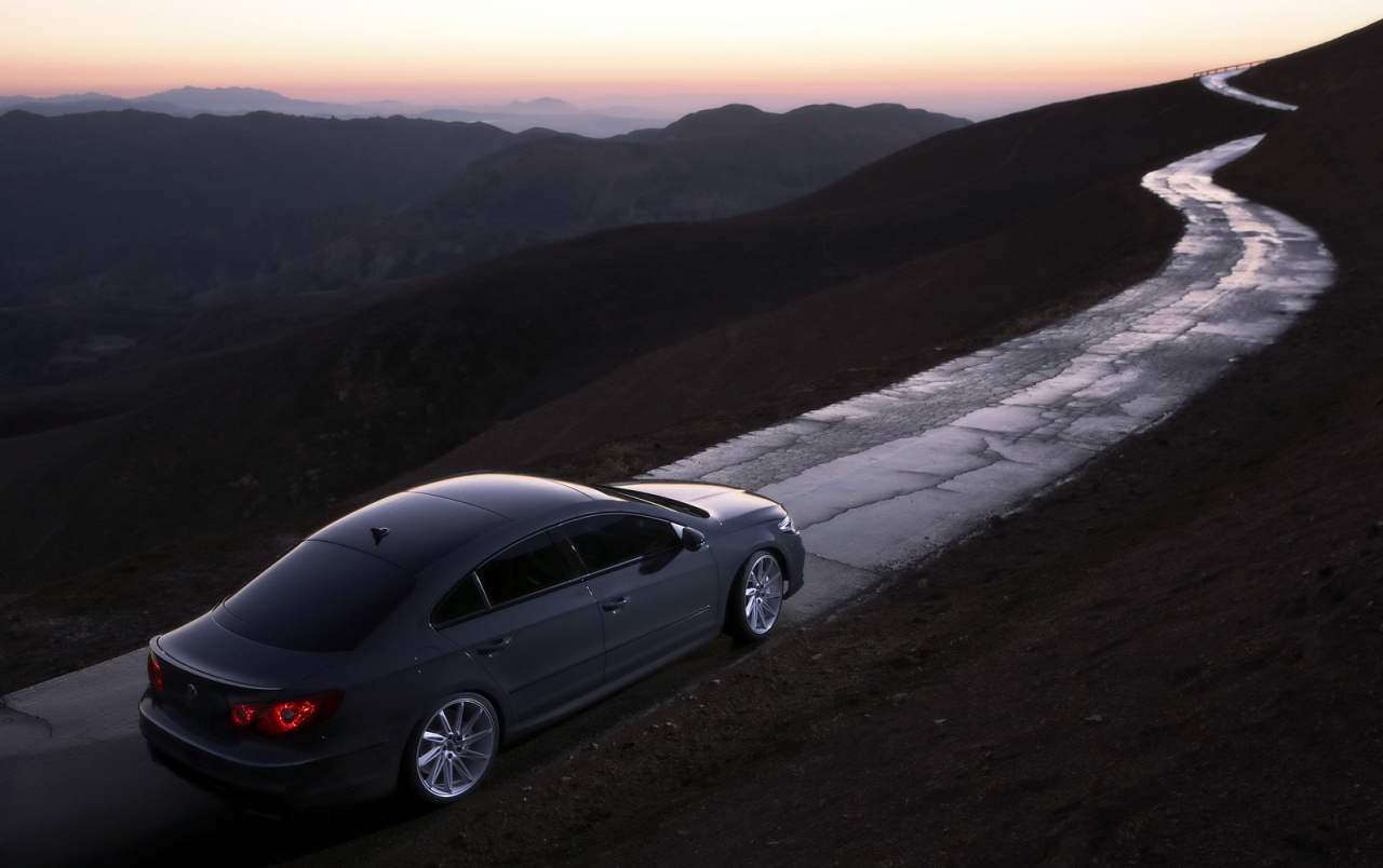 VW CC Eco road wallpapers