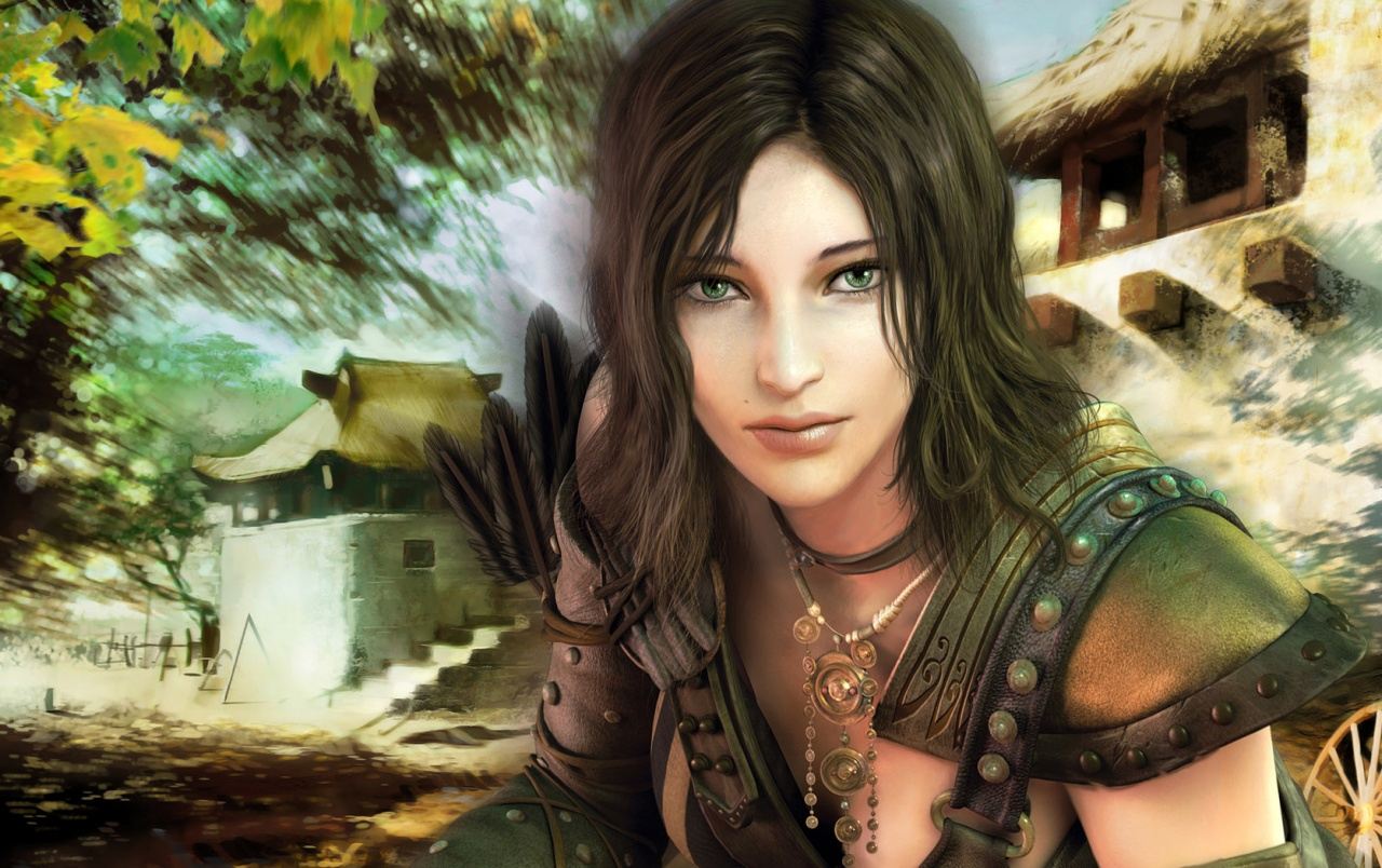 Portrait Of Game Girl Wallpapers  Portrait Of Game Girl -8167