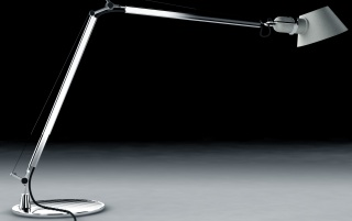 Long silver lamp wallpapers