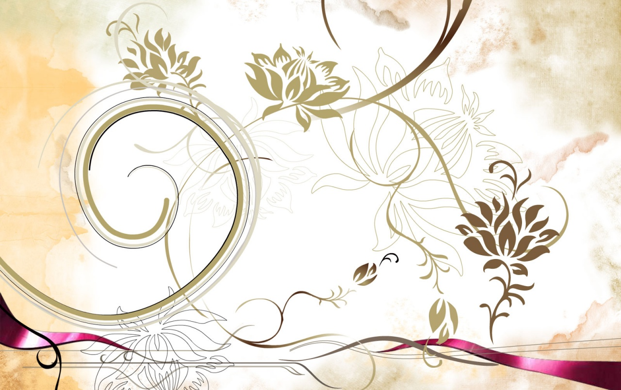 Colorful flower vector wallpapers