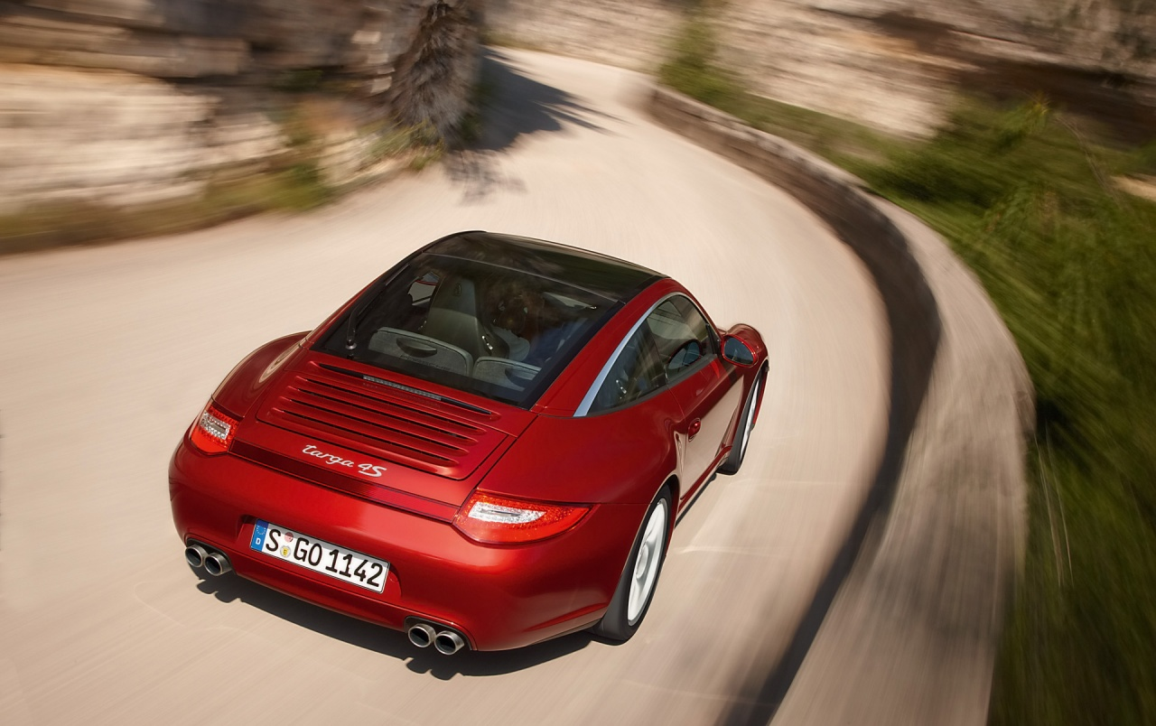 911 Targa top view wallpapers