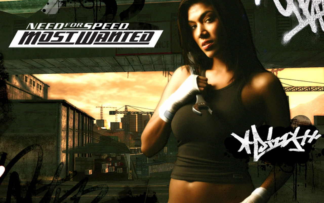 NFS Girl with tools wallpapers