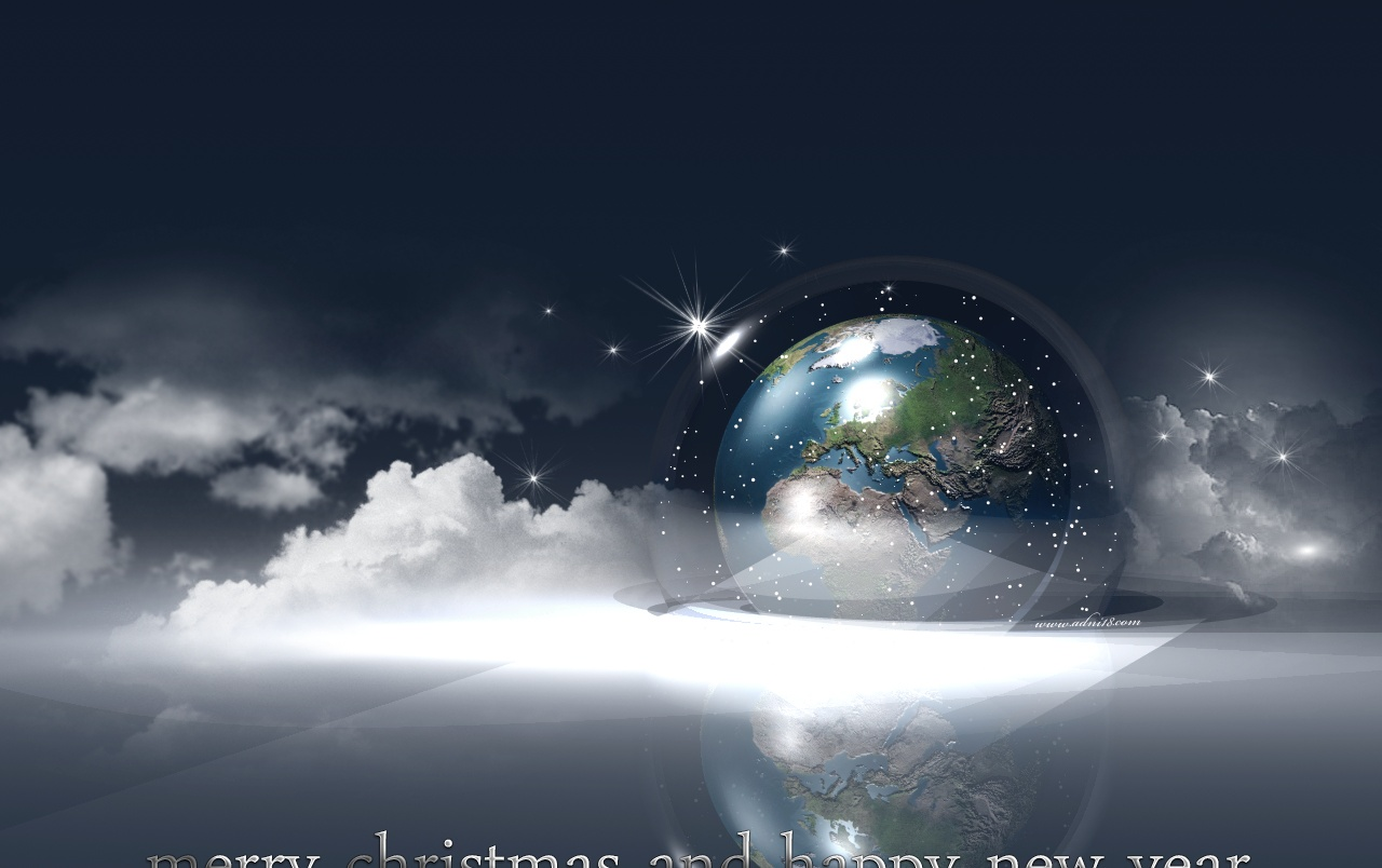 Earth and Xmas wallpapers