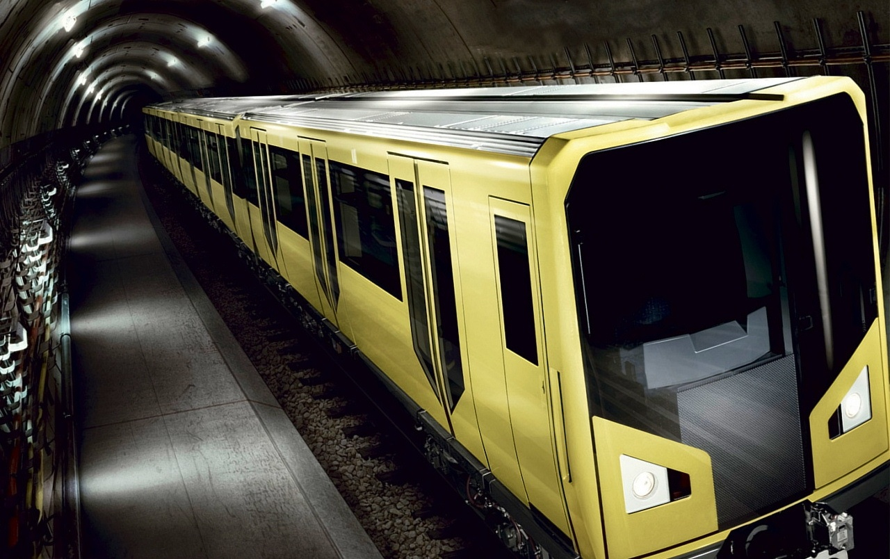 Yellow subway wallpapers