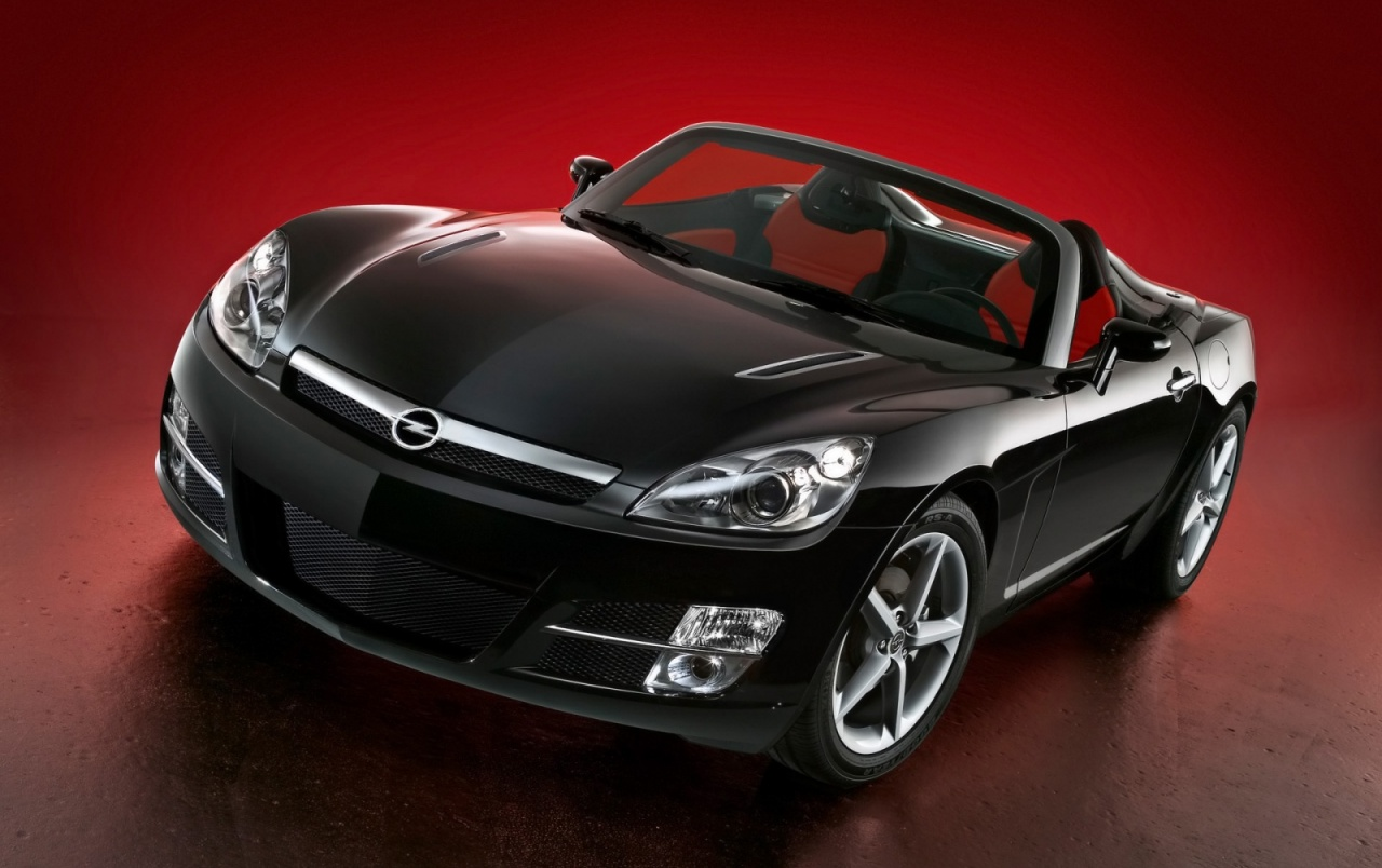 Negro Opel GT wallpapers