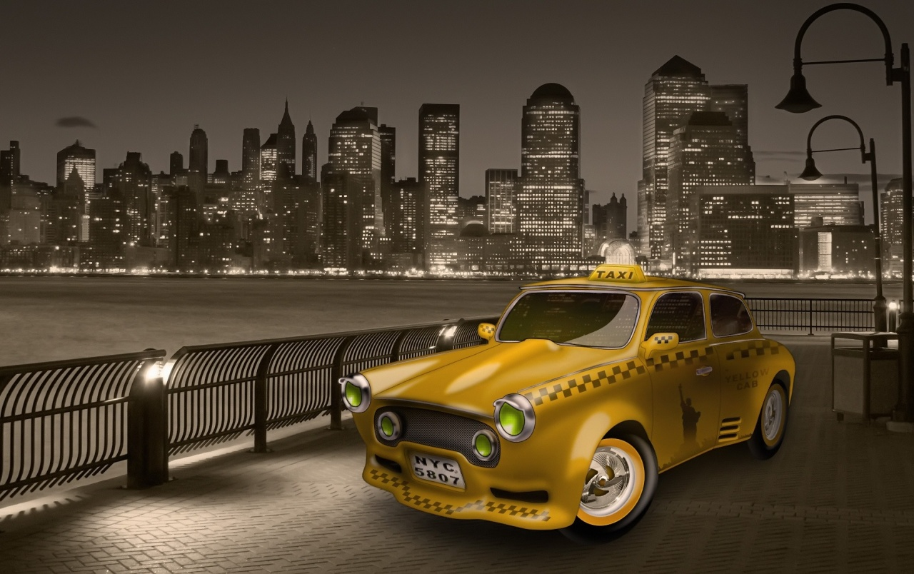 Yellow cab wallpapers