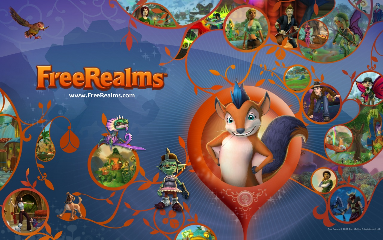 Free Realms wallpapers
