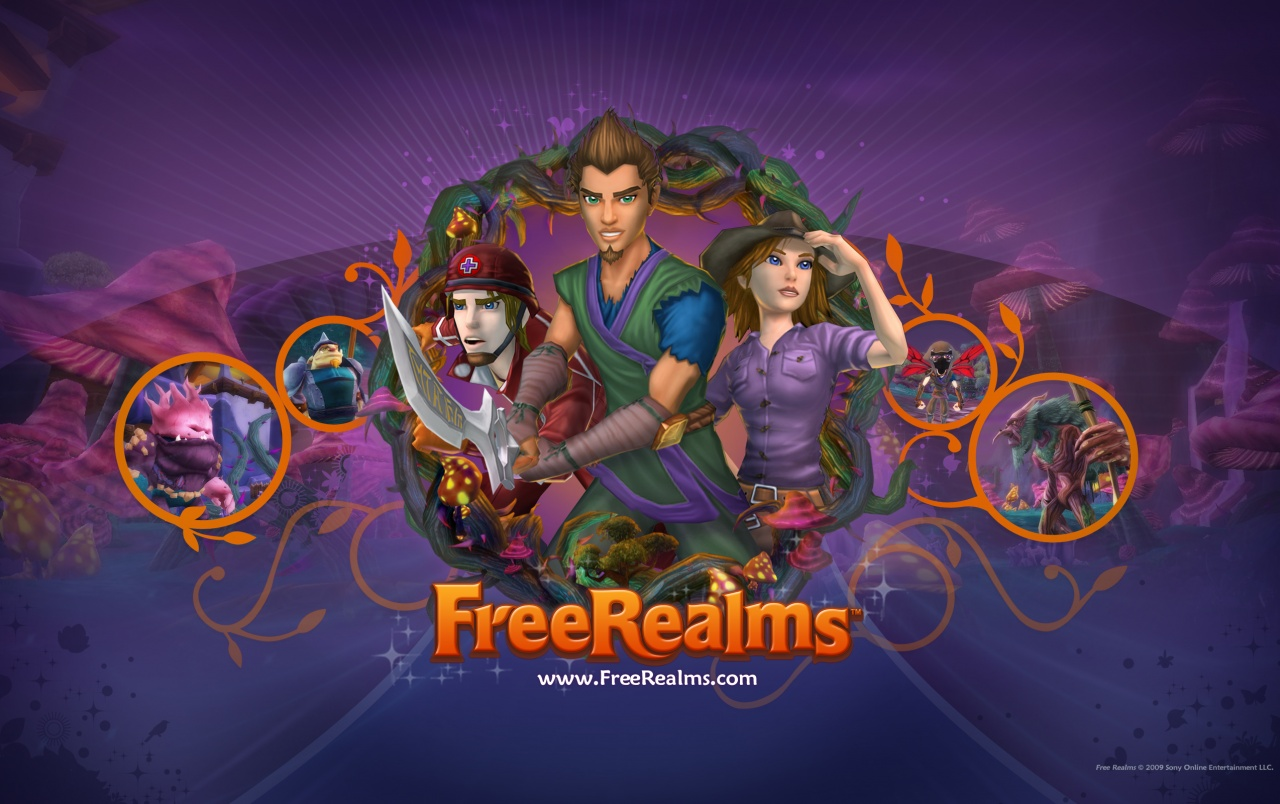 Free Realms 4 wallpapers
