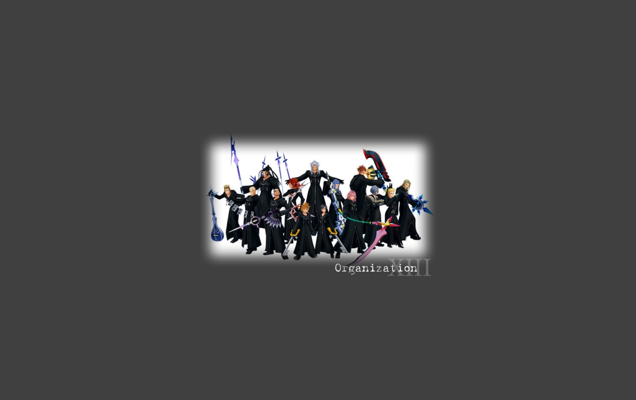 Organization XIII wallpapers