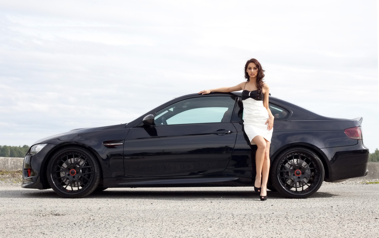 Woman And Bmw Wallpapers Woman And Bmw Stock Photos