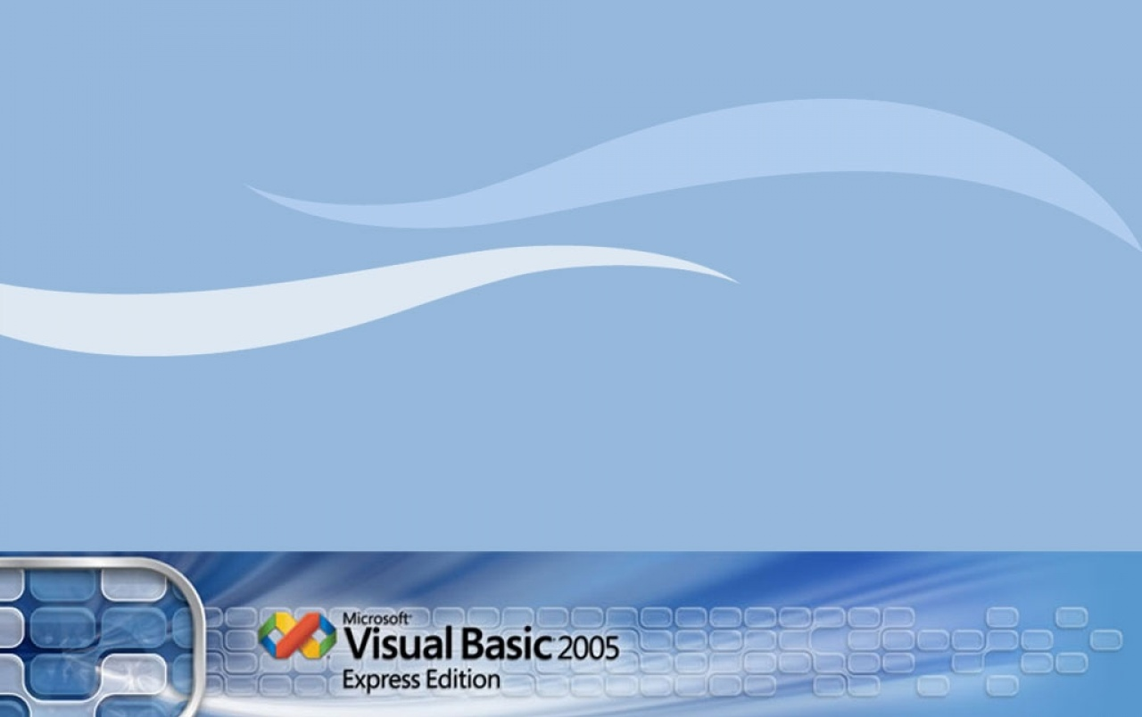 Original Visual Basic Express Wallpapers