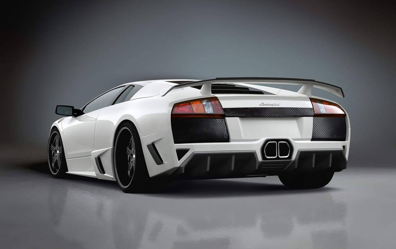 Lamborghini Murcielago Rear Angle Wallpapers Lamborghini