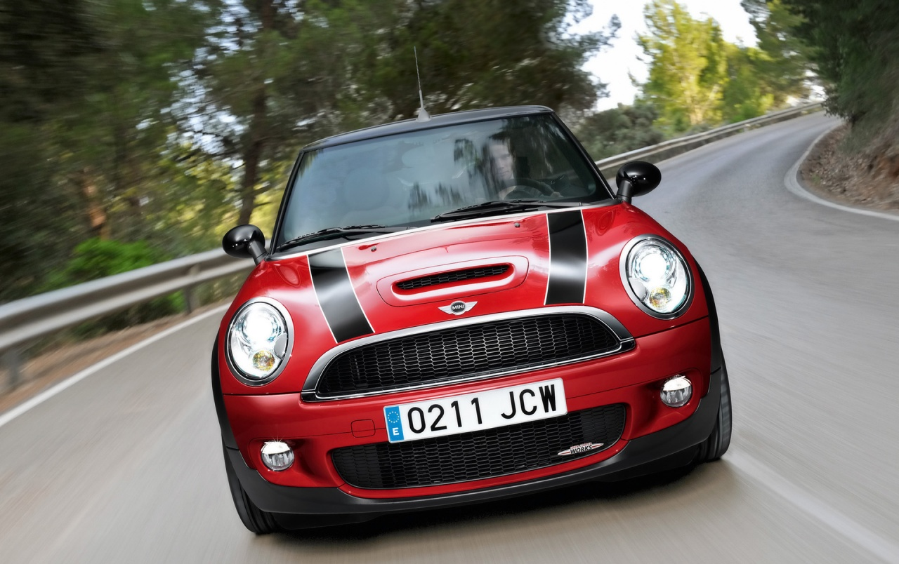 Mini Cooper JCW Dropdown Front wallpapers