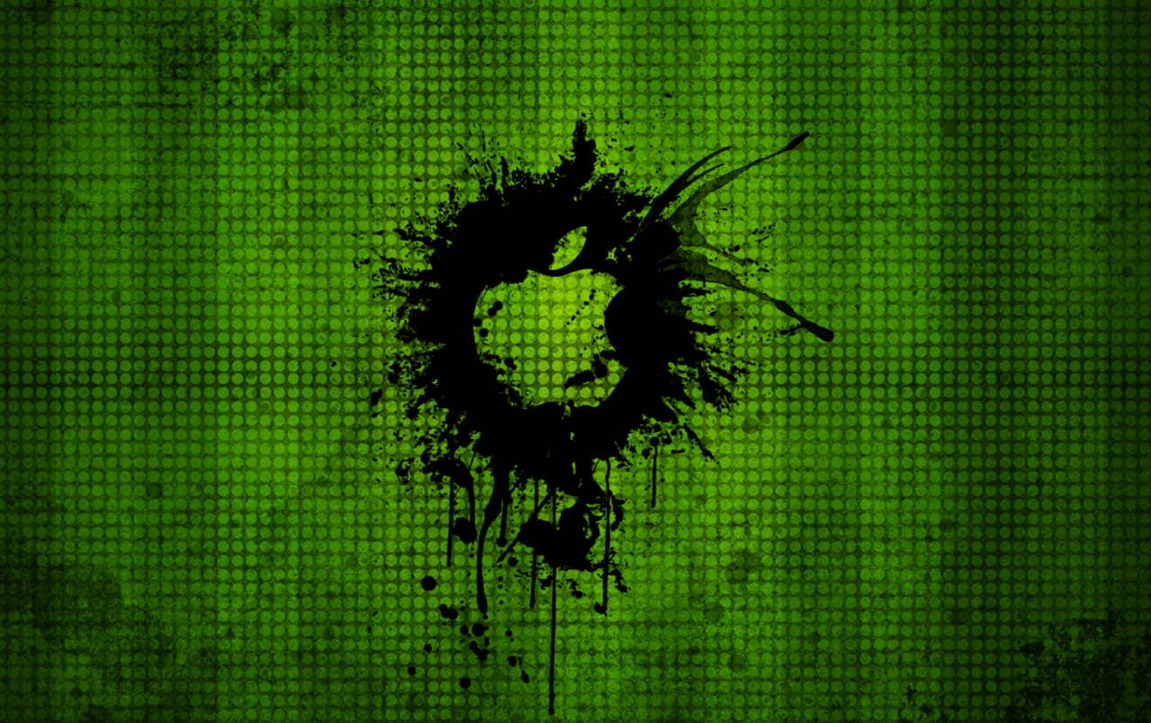 Crazy grunge Apple background wallpapers