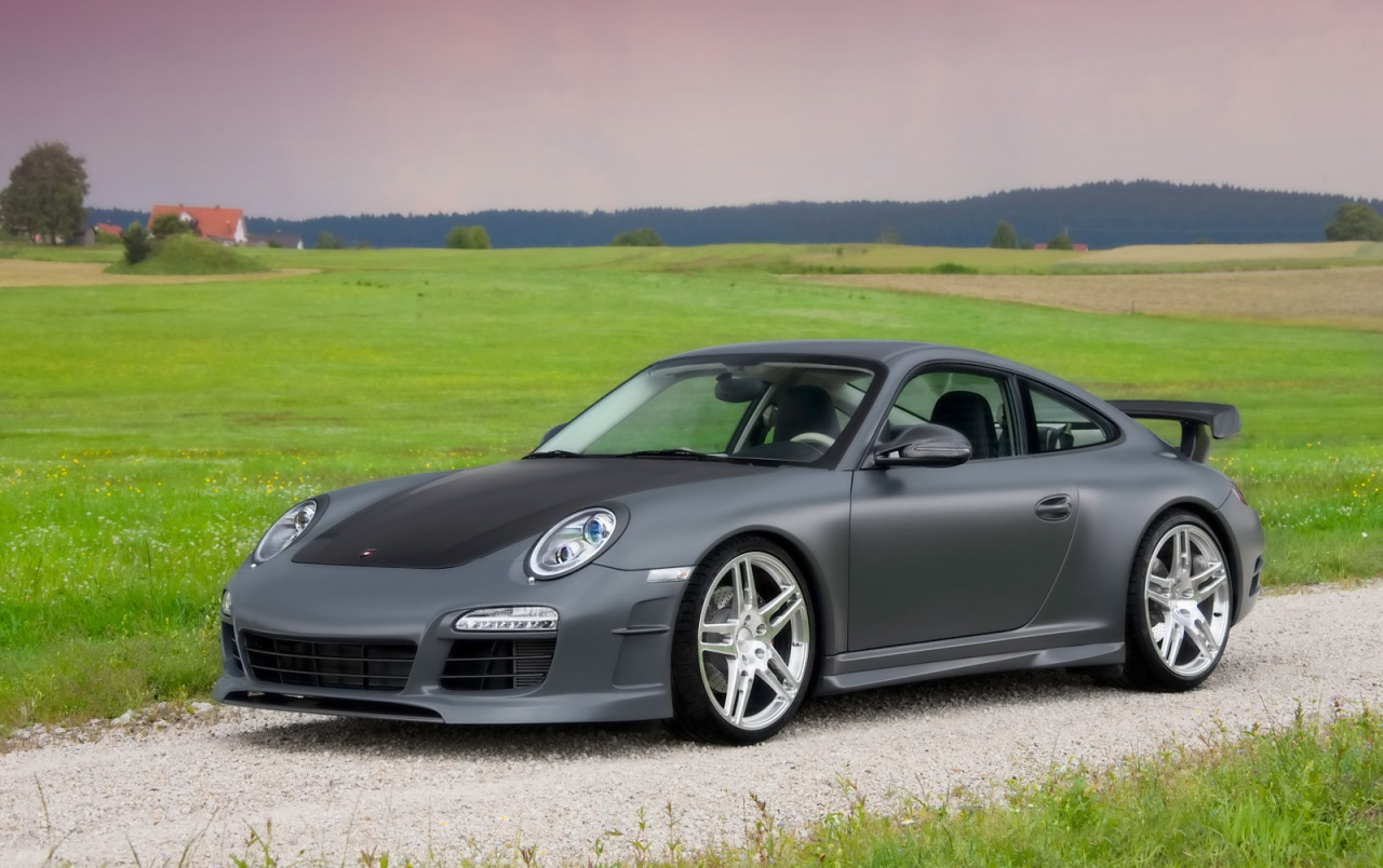Mansory Porsche 911 Carrera Front & Side wallpapers