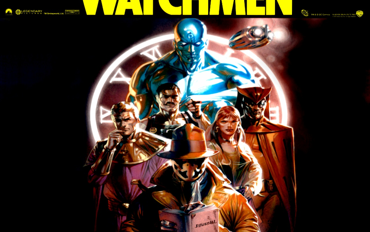 Watchmen Comic cover wallpapers