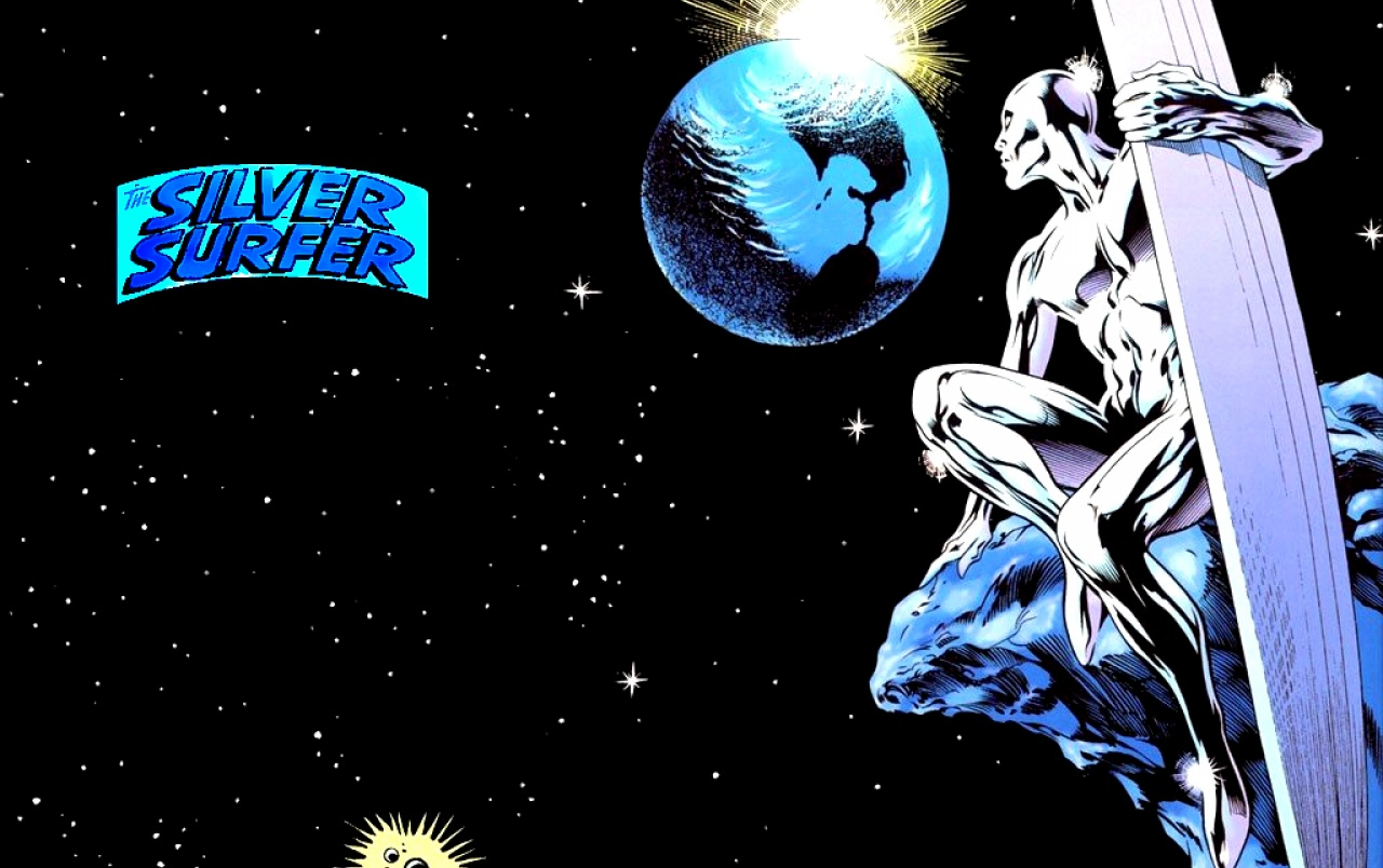 Silver Surfer Wallpaper High Resolution: The Silver Surfer Stock Photos