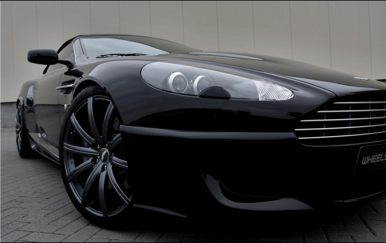 Aston Martin Db9 Convertible Front Section Wallpapers