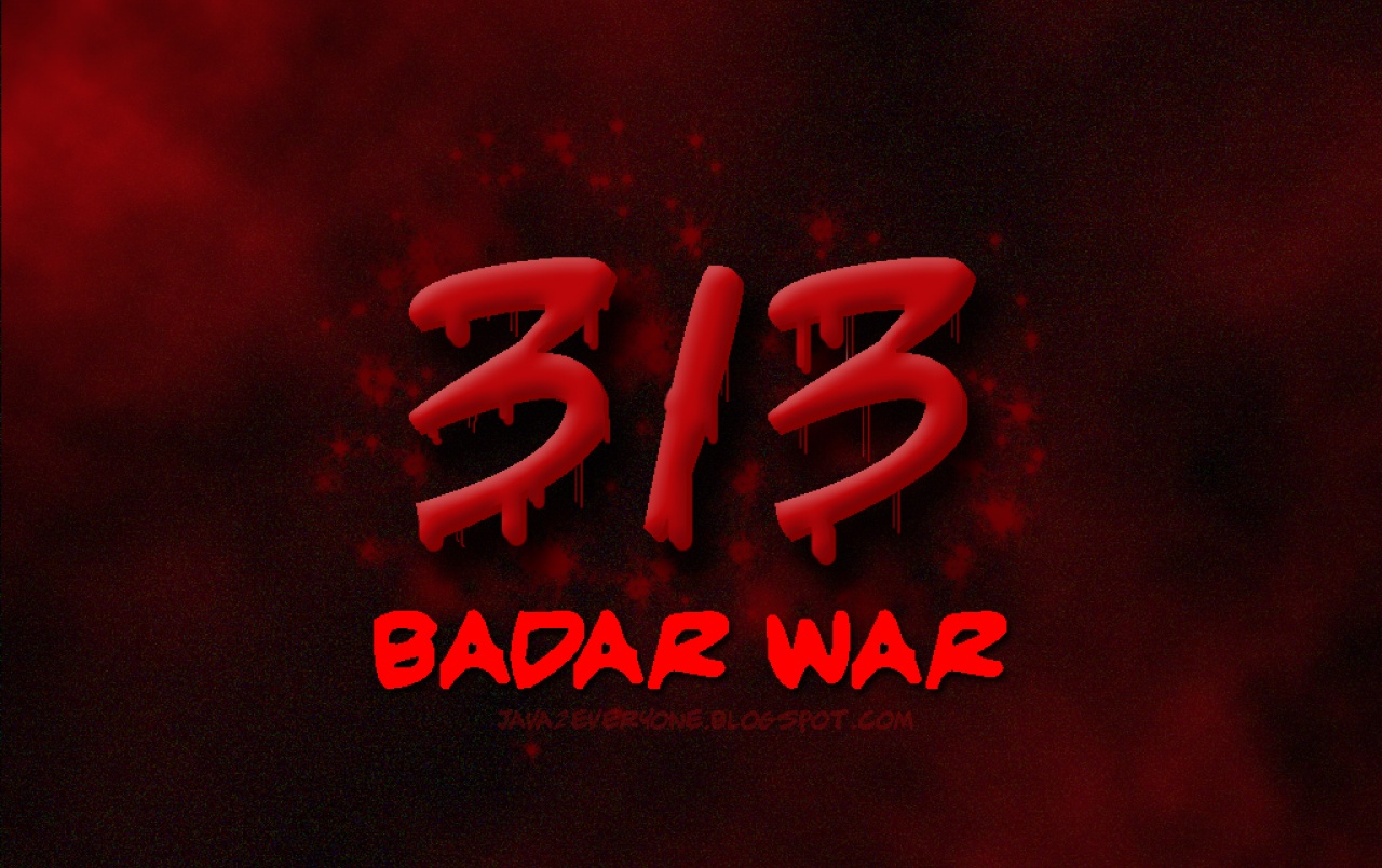 313 Badar War wallpapers