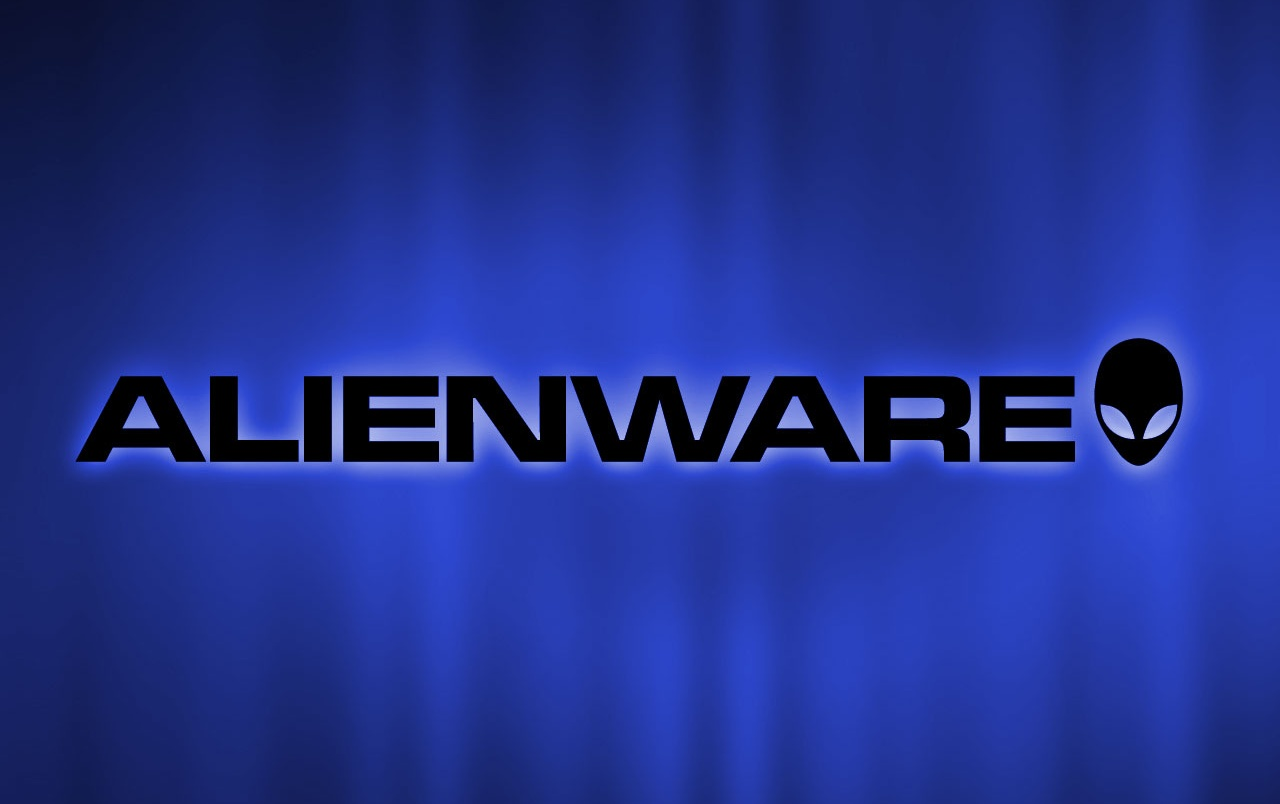 Alienware blue rays wallpapers