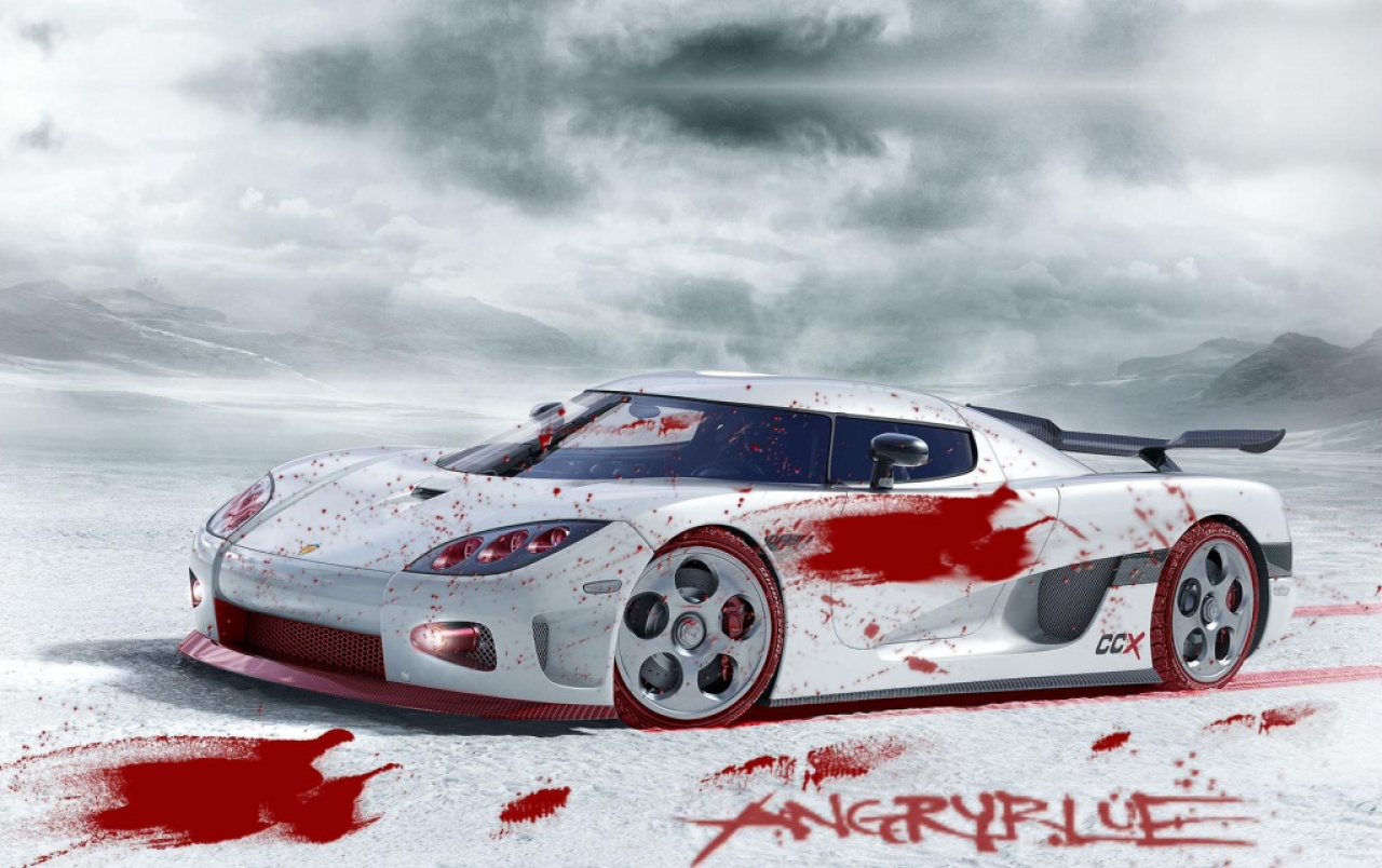 Bloody Koenigsegg CCX wallpapers
