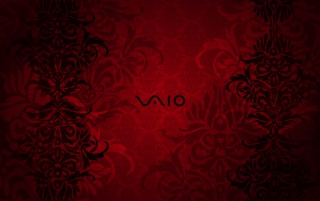 vaio red wallpaper by - photo #7