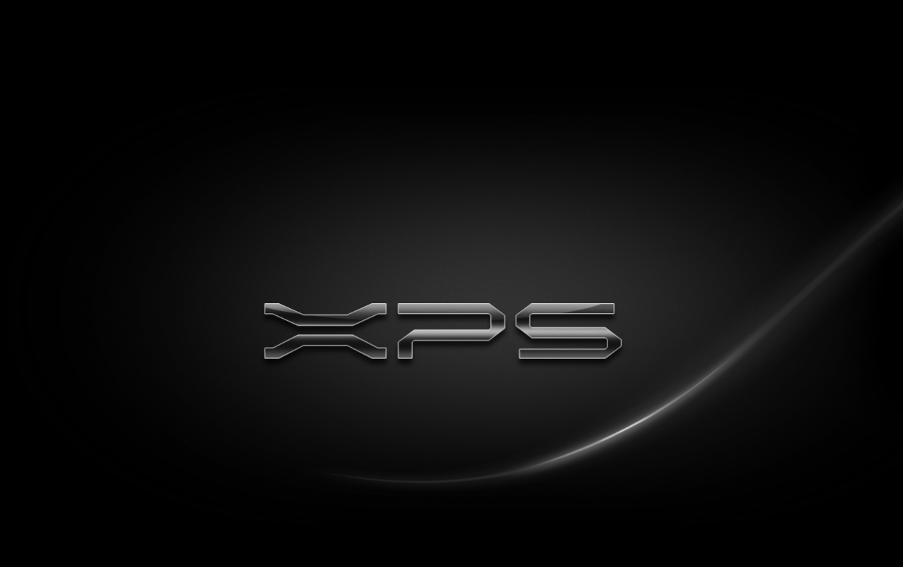 XPS Black wallpapers